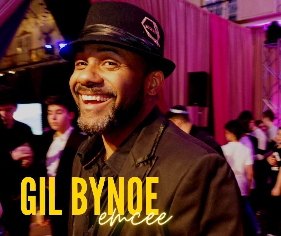 Gil Bynoe emcee services